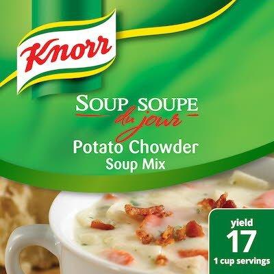 Knorr® Professional Soup du Jour Mix Potato Chowder 4 x 26.6 oz -