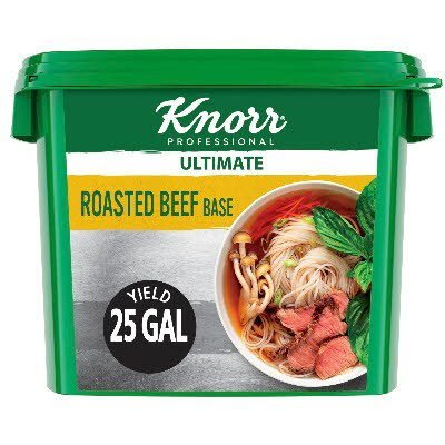 Knorr® Professional Ultimate Beef Bouillon Base 4 x 5 lb -