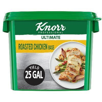Knorr® Professional Ultimate Chicken Bouillon Base 4 x 5 lb -