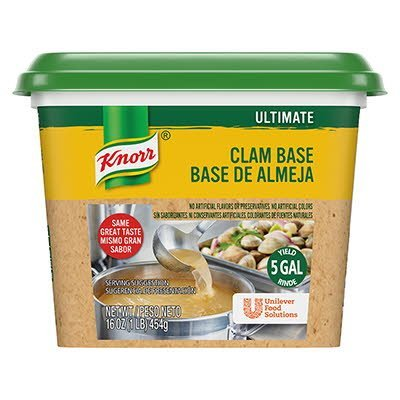 Knorr® Professional Ultimate Clam Base Gluten Free 1 pound, pack of 6 -