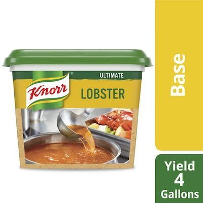 Knorr® Professional Ultimate Lobster Base Gluten Free 1 pound, pack of 6 -