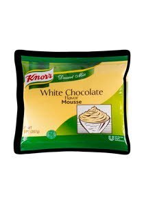 Knorr® Professional White Chocolate Mousse 7.313 ounces, 10 per case -