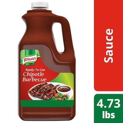 Knorr Ready-to-Use Chipotle Barbecue Sauce 0.5 gallons, Pack of 4 -