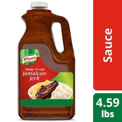 Knorr Ready-to-Use Jamaican Jerk Sauce 0.5 gallons, Pack of 4 -