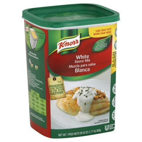 Knorr® Sauce Mix White Sauce 1.77 pound, 4 count