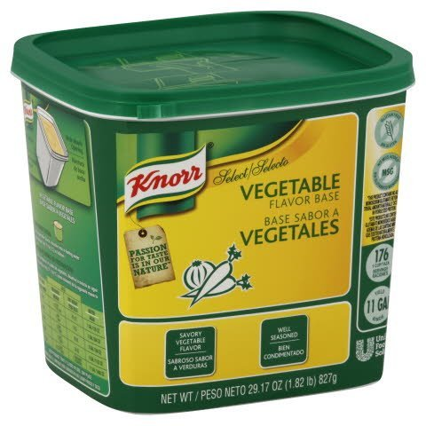 Knorr® Select Base Mix Vegetable No MSG 1.82 pound, 6 count -
