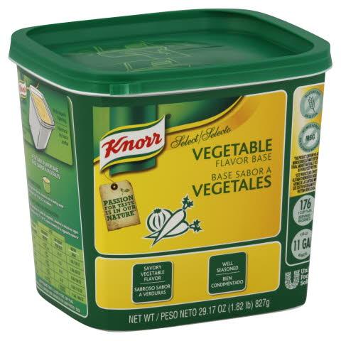 Knorr® Select Select Vegetable Base (No MSGAdded) - 10048001375700