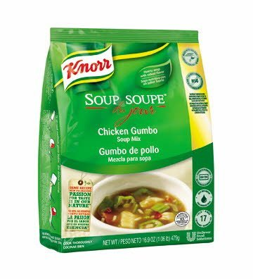 Knorr® Soup du Jour Mix Chicken Gumbo 16.9 ounces, pack of 4 -