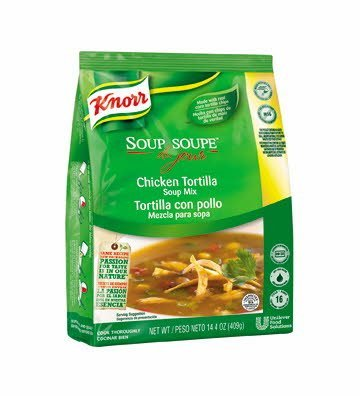 Knorr® Soup du Jour Mix Chicken Tortilla 14.4 ounces, 4 count -