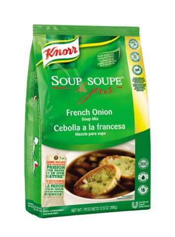 Knorr® Soup du Jour Mix French Onion 12.9 ounces, pack of 4 -