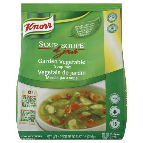 Knorr® Soup du Jour Mix Garden Vegetable 8.7 ounces, pack of 4 -