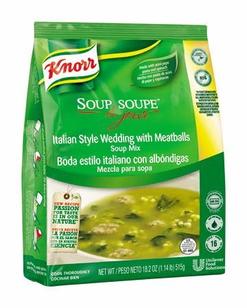 Knorr® Soup du Jour Mix Italian Style Wedding with Meatballs 18.2 ounces, 4 count