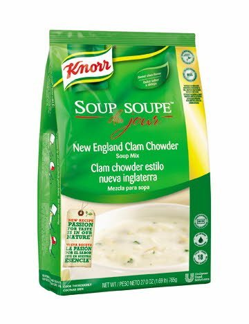 Knorr® Soup du Jour Mix New England Clam Chowder 27 ounces, pack of 4 -
