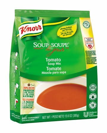 Knorr® Soup du Jour Mix Tomato Soup 13.6 ounces, pack of 4 -