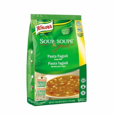 Knorr® Soup Du Jour SDJ PASTA FAGIOLI - 10048001253244