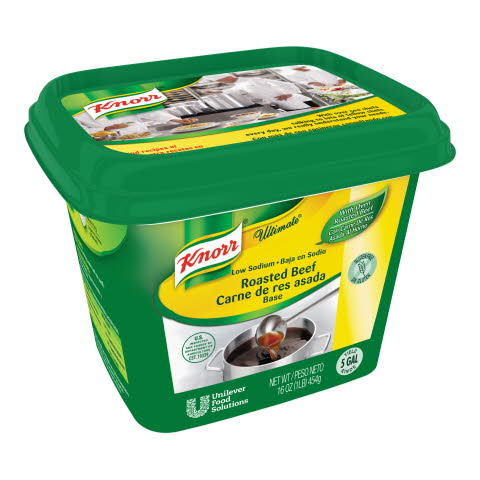 Knorr® Ultimate Beef Base Low Sodium, Gluten Free - 10048001509662