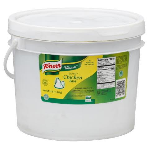 Knorr® Ultimate Gourmet Edge LS/50 Chicken Base - 10048001204598