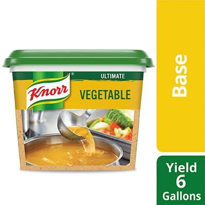 Knorr® Ultimate Low Sodium Vegetable Base Gluten Free 1 pound, pack of 6 -