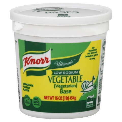 Knorr® Ultimate Low Sodium VegetarianVegetable Base - 10048001914817