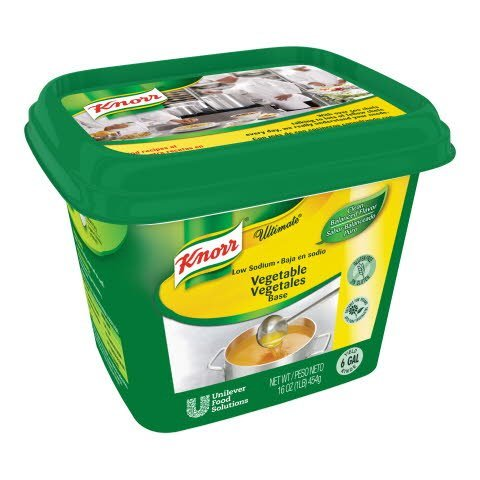 Knorr® Ultimate Refrigerated Base Low Sodium Vegetable, 6 pound