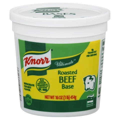 Knorr® Ultimate Roasted Beef Base - 10048001914695