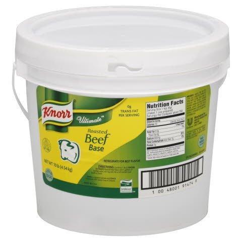 Knorr® Ultimate Roasted Beef Base - 10048001914749