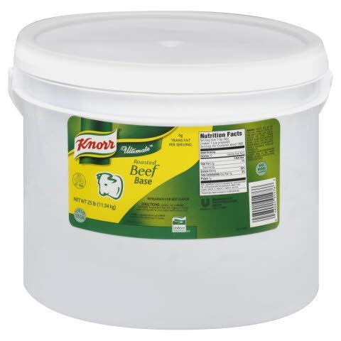 Knorr® Ultimate Roasted Beef Base - 10048001914763