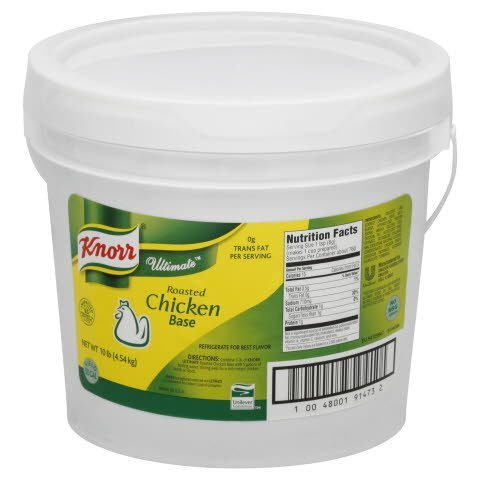 Knorr® Ultimate Roasted Chicken Base - 10048001914732