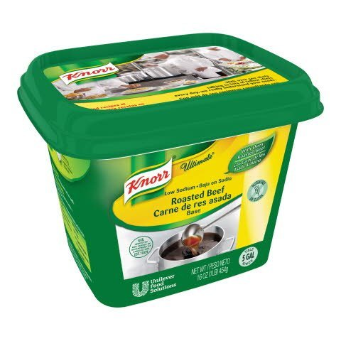 Knorr® Ultimate Ultimate Refrigerated Base Low Sodium Beef, 6 pound -