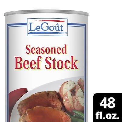 LeGout® Au Jus Beef Stock 12 x 48 oz -