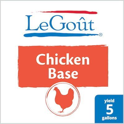 LeGout® Chicken Bouillon Base 12 x 1 lb -