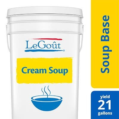 LeGoût® Cream Soup Base 25.2 oz, Pack of 6