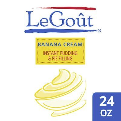 Legout® Instant Banana Cream Pudding and Pie Filling - 10037500769509