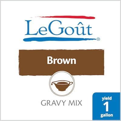 Legout® Instant Gravy Mix Brown 13.29 ounces, 8 count