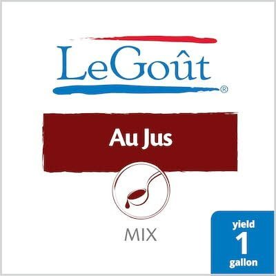 Legout® Instant Sauce Mix Au Jus 3.3 ounces, 16 count -