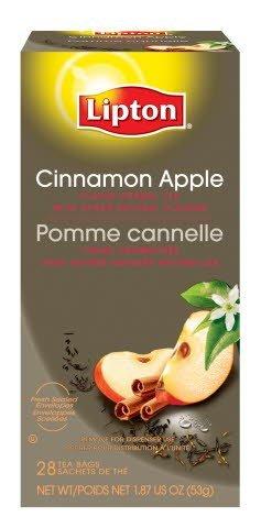 Lipton® Cinnamon Apple Flavor Herbal Tea - 10041000001205