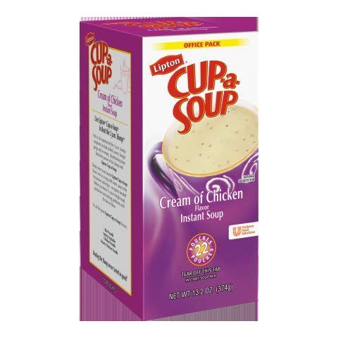 Lipton® Cup-a-Soup Cream of Chicken Instant Soup - 10041000034852