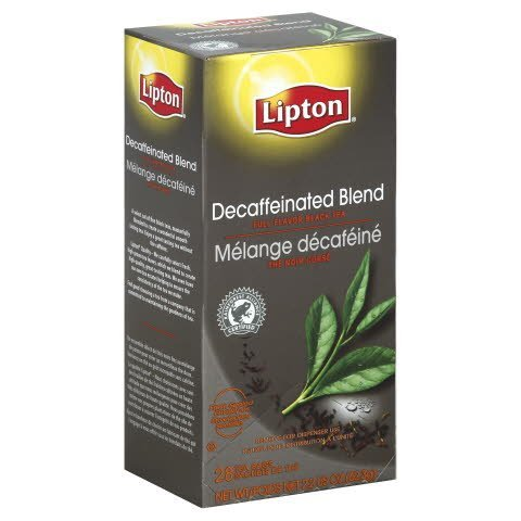 Lipton® Decaffeinated Black Tea