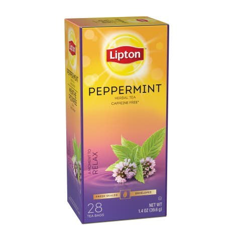 Lipton® Hot Peppermint Tea 6 boxes, 28 bag count
