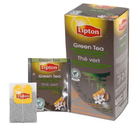 Lipton® Hot Tea Bags Green with Orange, Passion Fruit, Jasmine Flavor 168 count