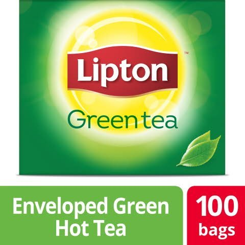 Lipton® Hot Tea Green Blend 100 count, Pack of 5 -