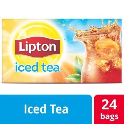 Lipton® Iced Tea Tea Bags Black Tea 3 gallon, 24 count - When guests see Lipton® Fresh Brewed, they order icedtea