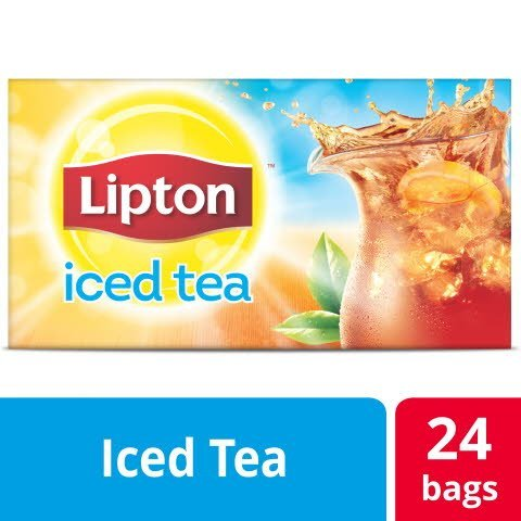 Lipton®  Iced Tea Unsweetened Black 1 gallon, yield 24 count, Pack of 4 -