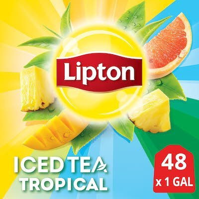 Lipton®  Iced Tea Unsweetened Tropical 1 gallon, yield 24 count, Pack of 2