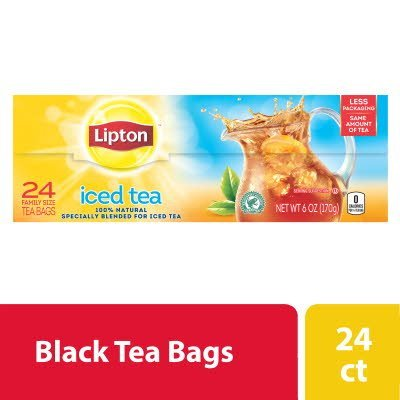 Lipton® Iced Tropical Flavored Black Tea 3 gallon, 24 count