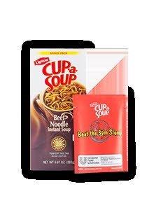Lipton® Instant Cup a Soup Beef Noodle 22 pouches 4 count