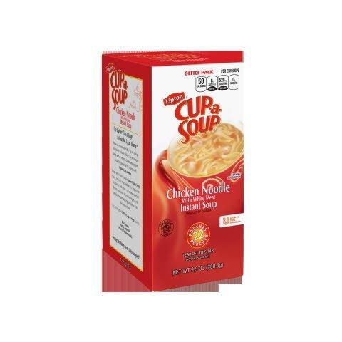 Lipton® Instant Cup a Soup Chicken Noodle 22 pouches, 4 count -