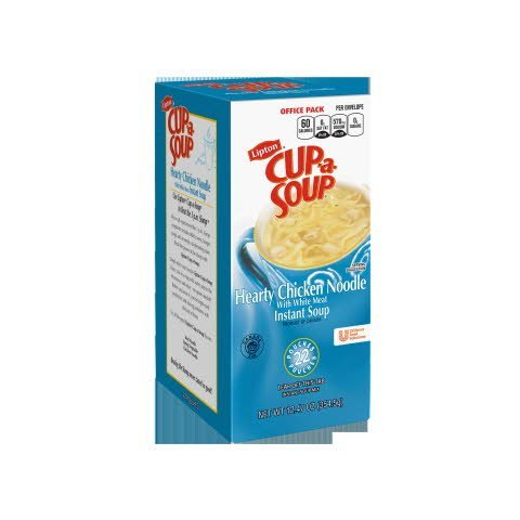 Lipton® Instant Cup a Soup Hearty Chicken Noodle 22 pouches, 4 count -