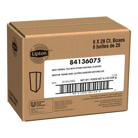 Lipton® Mint Tea - 10041000001342