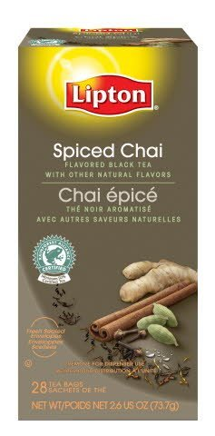Lipton® Spiced Chai Tea